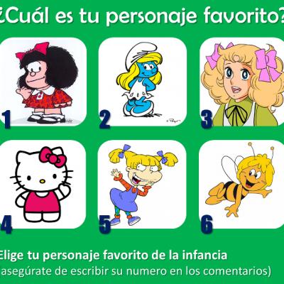¿Cuál es tu personaje favorito?