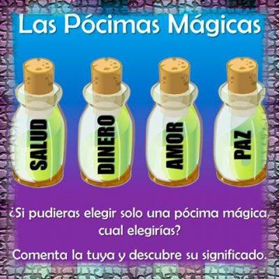 Las pócimas mágicas