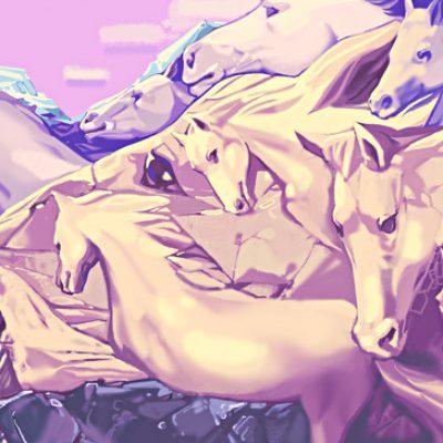 ¿Cuántos caballos ves? Tu respuesta puede revelar mucho sobre ti