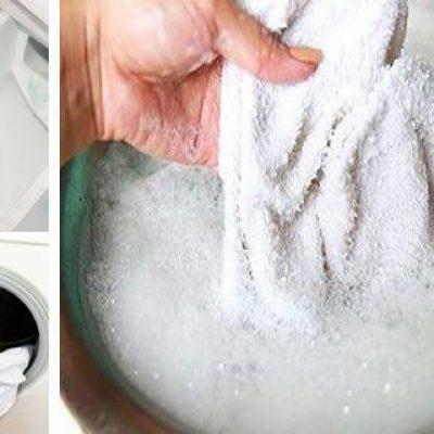 Saca cualquier tipo de mancha de tus prendas blanca con este sencillo y eficaz método