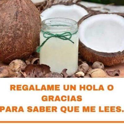 Lava tu rostro con el aceite de coco