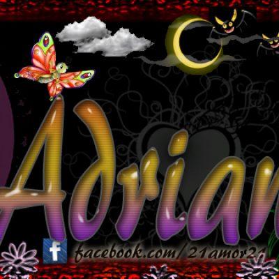 Portadas para tu Facebook con tu nombre, Adriana