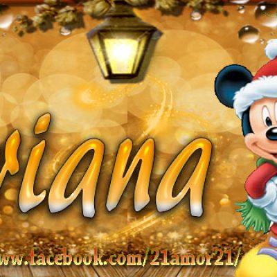 Portadas de Navidad con tu Nombre, de MICKEY, Adriana!!!