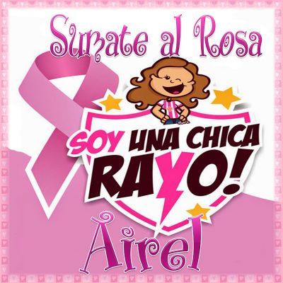 19 de Octubre Día mundial contra el Cancer.Airel