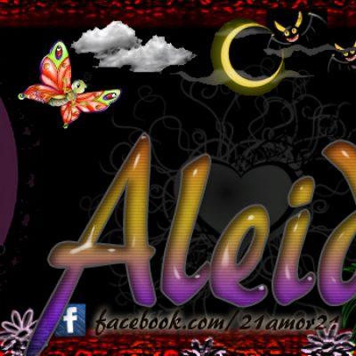 Portadas para tu Facebook con tu nombre, Aleida