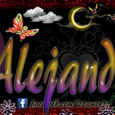 Portadas para tu Facebook con tu nombre, Alejandra