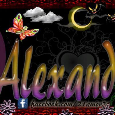 Portadas para tu Facebook con tu nombre, Alexandra