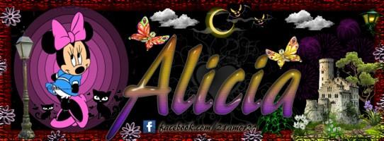 Portadas para tu Facebook con tu nombre, Alicia