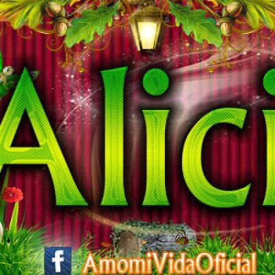 Nuevas Portadas para tu Facebook con tu nombre de Minnie y Mickey, Alicia