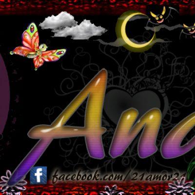 Portadas para tu Facebook con tu nombre,Ana