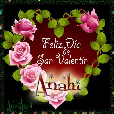 Feliz Día de San Valentin…Anahi