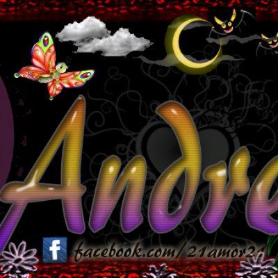 Portadas para tu Facebook con tu nombre, Andrea
