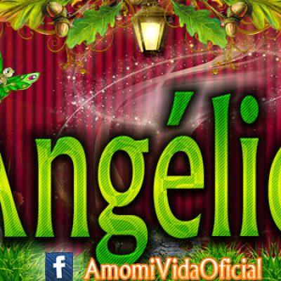 Nuevas Portadas para tu Facebook con tu nombre de Minnie y Mickey,Angélica
