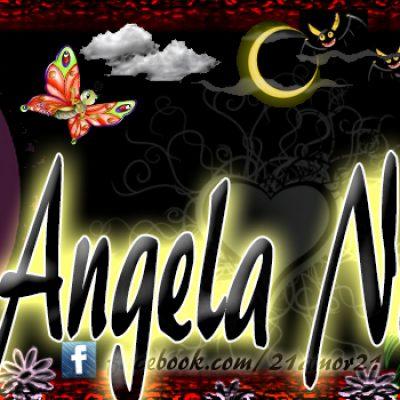Portadas para tu Facebook con tu nombre, Angela Nahomy