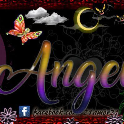 Portadas para tu Facebook con tu nombre, Angela