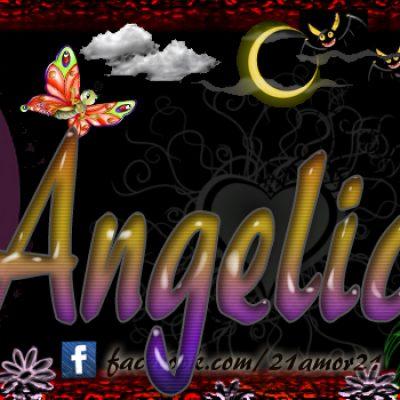 Portadas para tu Facebook con tu nombre, Angelica
