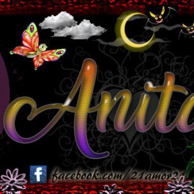 Portadas para tu Facebook con tu nombre, Anita