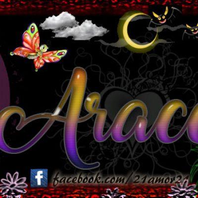 Portadas para tu Facebook con tu nombre, Araceli