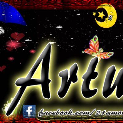 Portadas para tu Facebook con tu nombre, Arturo