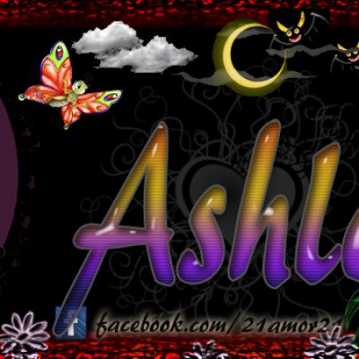 Portadas para tu Facebook con tu nombre, Ashley