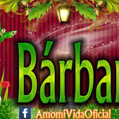 Nuevas Portadas para tu Facebook con tu nombre de Minnie y Mickey,Bárbara