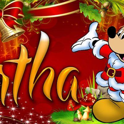 Portadas de Navidad con tu Nombre, de MICKEY, Bertha!!!
