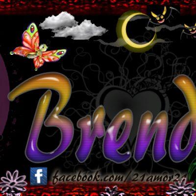 Portadas para tu Facebook con tu nombre, Brenda