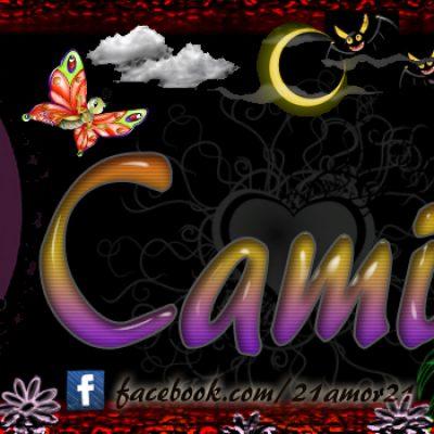 Portadas para tu Facebook con tu nombre, Camiila