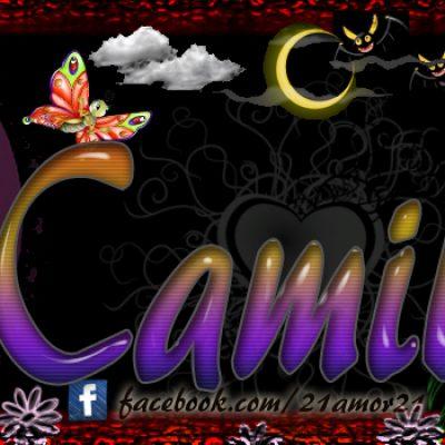 Portadas para tu Facebook con tu nombre, Camila