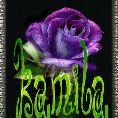 Nombre en Rosas,Kamila