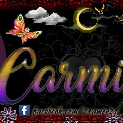 Portadas para tu Facebook con tu nombre, Carmita