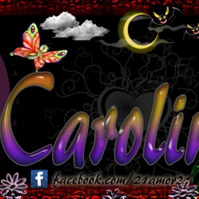 Portadas para tu Facebook con tu nombre, Carolina