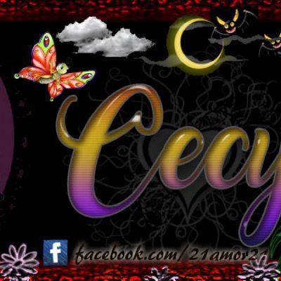 Portadas para tu Facebook con tu nombre, Cecy
