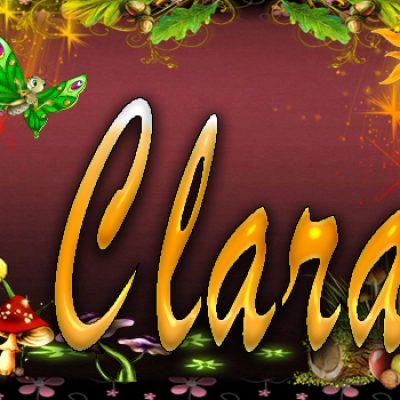 TU miki mouse con tu Nombre,Clara