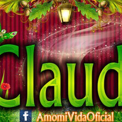 Nuevas Portadas para tu Facebook con tu nombre de Minnie y Mickey,Claudia