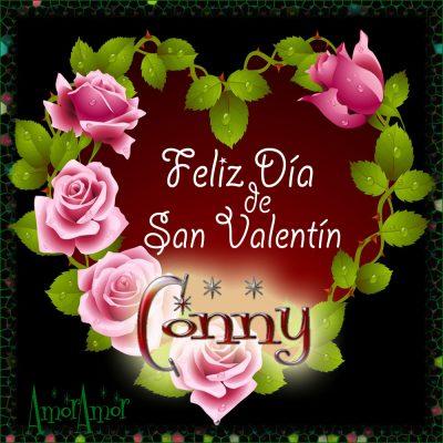 Feliz Día de San Valentin… Conny