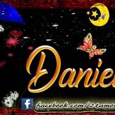 Portadas para tu Facebook con tu nombre, Daniel