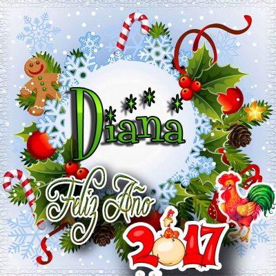 Lindas tarjetas para perfil con tu nombre 2017!!! Diana