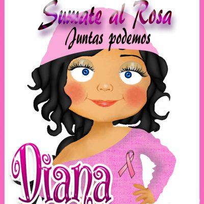 19 de Octubre Día mundial contra el Cancer.Diana