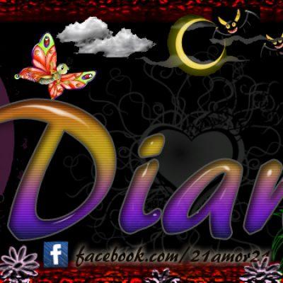 Portadas para tu Facebook con tu nombre, Diana