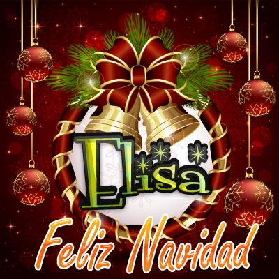 Feliz Navidad !!! Elisa