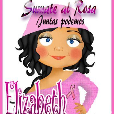 19 de Octubre Día mundial contra el Cancer.Elizabeth