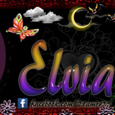 Portadas para tu Facebook con tu nombre, Elvia