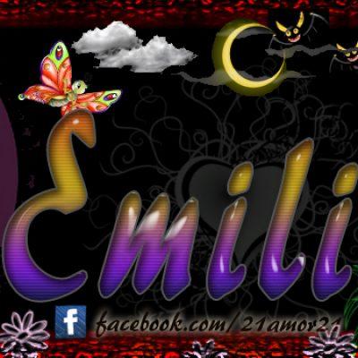 Portadas para tu Facebook con tu nombre, Emilia