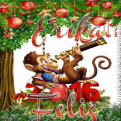 Feliz Año 2016!!!Erika
