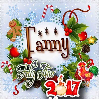 Lindas tarjetas para perfil con tu nombre 2017!!! Fanny