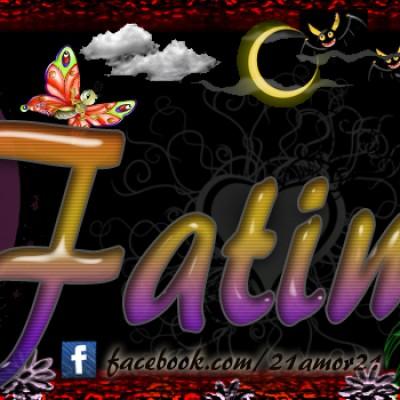 Portadas para tu Facebook con tu nombre,Fatima