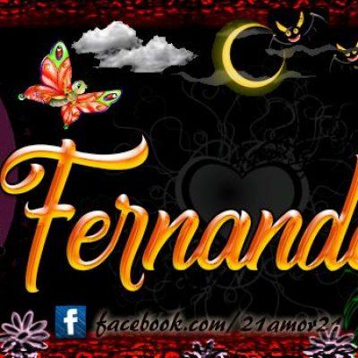 Portadas para tu Facebook con tu nombre, Fernanda