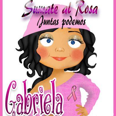 19 de Octubre Día mundial contra el Cancer.Gabriela