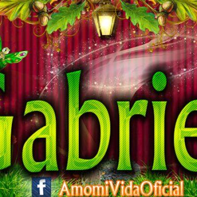 Nuevas Portadas para tu Facebook con tu nombre de Minnie y Mickey,Gabriela